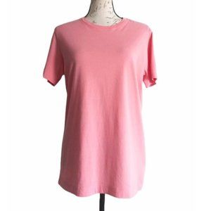 Brooks Brothers Pink Jersey Knit T Shirt Sz S
